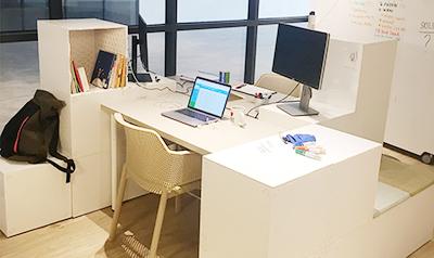 Tetrix desk set up